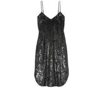 Kleid aus Chiffon mit Pailletten
