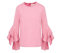Woman Cotton-poplin Top Pink