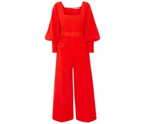 Patrice Belted Crepe Jumpsuit
