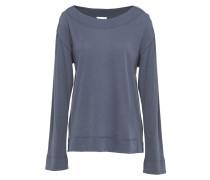 Adena Cotton-fleece Pajama Top