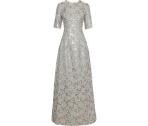 Holly Brocade Gown