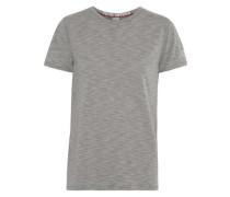 Boyfriend striped modal-blend T-shirt