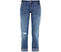 Riley Boyfriend-jeans in Distressed-optik