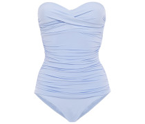 Body Ruched Bandeau Swimsuit