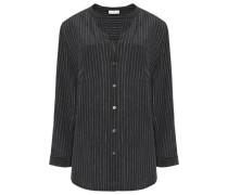 Luma printed silk crepe de chine blouse