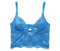 Chrystalle Embellished Stretch-lace Soft-cup underwired Bra