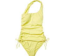 Polynesia One-shoulder Ruched Swimsuit