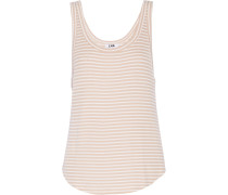Ribbed Modal-blend Tank Pfirsich