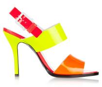 Neon Patent-leather Sandals Knallgelb