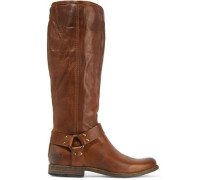 Phillip Harness Tall leather boots