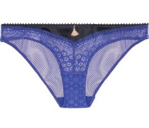 Ethiopian Magic low-rise lace and satin briefs