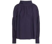 Kellman Geraffte Bluse aus Baumwollpopeline