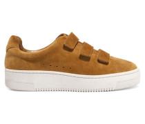 Suede Platform Sneakers Braun
