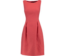 Betsy Wool-blend Matelassé Mini Dress Korall