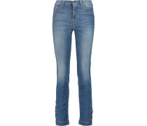 Rozie Mid-rise Slim-leg Jeans Heller Denim