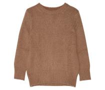Knitted Sweater Hellbraun