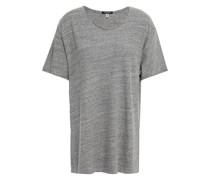 Rosie T-shirt aus Meliertem Baumwoll-jersey