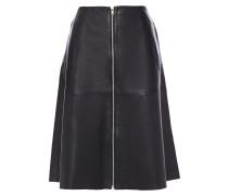 Lismore Flared Leather Skirt