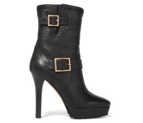 Dylan Leather Boots Schwarz
