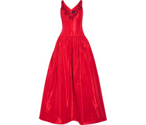 Embellished Faille Gown Rot