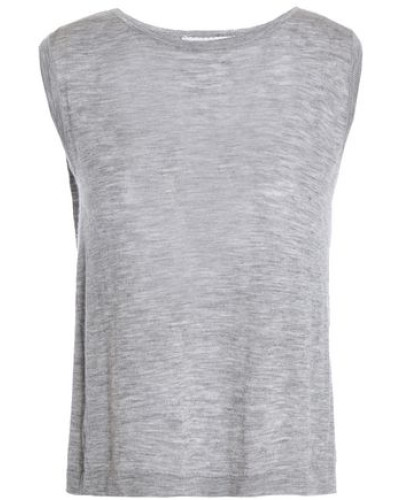 Cashmere Top Gray