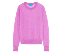 Inka Ribbed Mohair-blend Sweater Pink