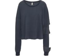 Sweatshirt aus Jersey aus Einer Baumwoll-tencel™-mischung mit Cut-outs