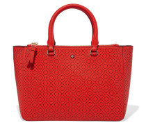 Robinson Laser-cut Leather Tote Rot