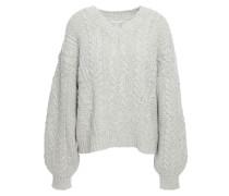 Vinita Cable-knit Wool-blend Sweater