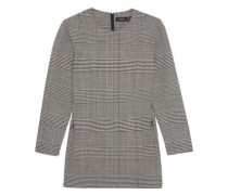 Laurent Prince of Wales checked stretch-wool top