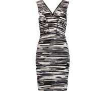 Viera printed stretch-jersey mini dress