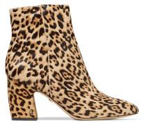 Hilty Leopard-print Calf Hair Ankle Boots