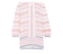 Tereza Off-the-shoulder Cotton-blend Jacquard Dress