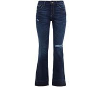 Bridget Halbhohe Kick-flare-jeans