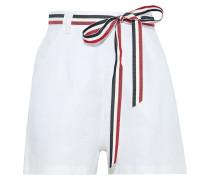 Joone Belted Linen Shorts