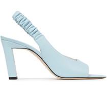 Isa Slingback-sandalen aus Leder