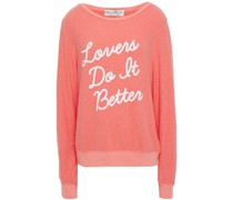 Printed Fleece Sweatshirt