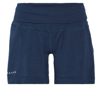Stretch-jersey Shorts Rauchblau