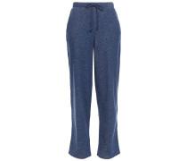 Breena Mélange Cotton-fleece Track Pants