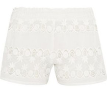 Paula cotton-lace shorts