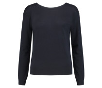 Karinalee Stretch-wool Sweater Navy