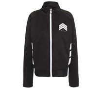 Printed Stretch-jersey Track Jacket
