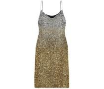 Daria Dégradé Sequined Silk-crepe Midi Dress