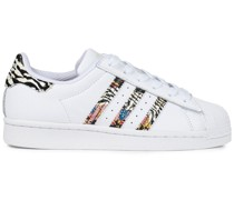 Superstar Sneakers aus Leder mit Print