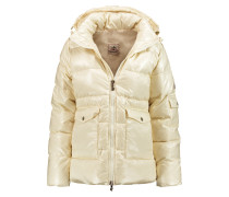 Authentic Quilted Shell Down Jacket Creme