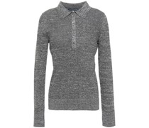 Mélange Knitted Top