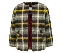Checked Bouclé Jacket Mehrfarbig