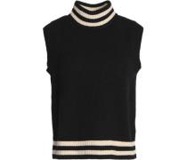 Merino wool-blend turtleneck sweater
