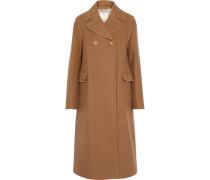 Wool-blend Coat Camel