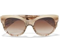 Cat-eye Acetate Polarized Sunglasses